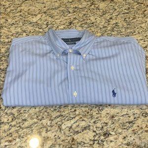 NWOT Men's Polo by Ralph Lauren Dress Shirt SZ17